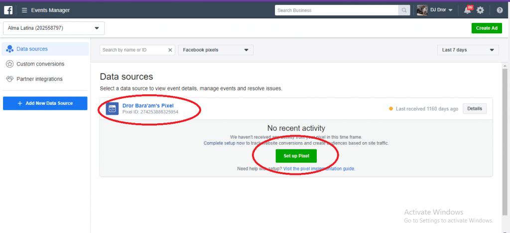 איך להטמיע פייסבוק פיקסל בוורדפרס ובוויקס תוך 7 דקות! 2