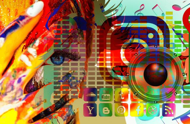 גרפיקת קידום ברשתות החברתיות