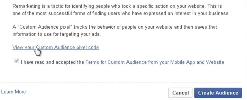 שיווק מחדש בפייסבוק, הטעמת קוד | סער ברעם