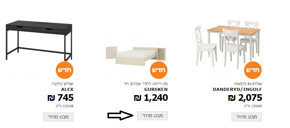 שיווק מוצרים לדוגמא 2